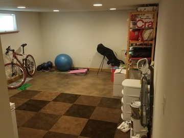 Space for Rent: Finished Basement Space