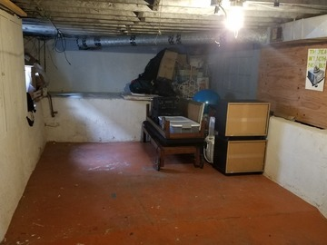 Space for Rent: First Half of Convenient Basement Space